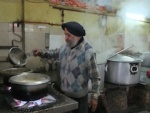 The kitchen of a Sikh gurdwara in Delhi. Pic: Susie Weldon, ARC